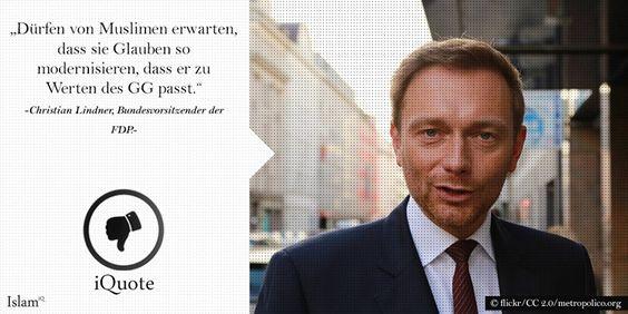 CHRISTIAN LINDNER, liberal denkender  FDP-Bundesvorsitzender: 05.09.0216