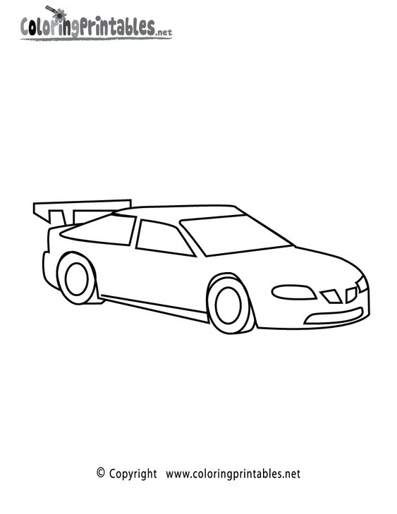 race car printables for kids racing car coloring page fourth grade ideas pinterest race. Black Bedroom Furniture Sets. Home Design Ideas