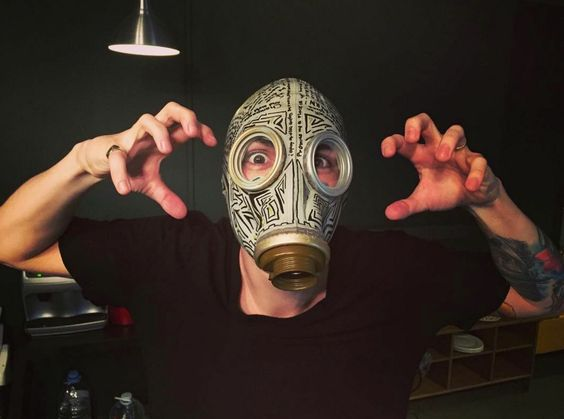 Gas mask ~ Brendon Urie