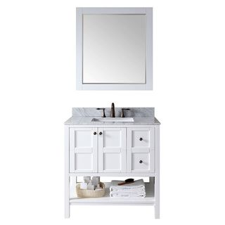 Altra White 24-inch Shaker Style Bath Vanity Cabinet (AWI, White ...