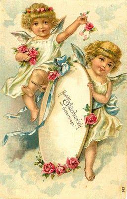 Cards Scrapbooking and Art: Vintage Angel & fairies (26)
