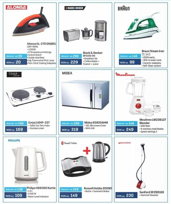 attractive Coop Kitchen Appliances #5: Kitchen Appliances Exclusive Offer @ Union Coop Union Coop Happy Deals and  More! Offer valid