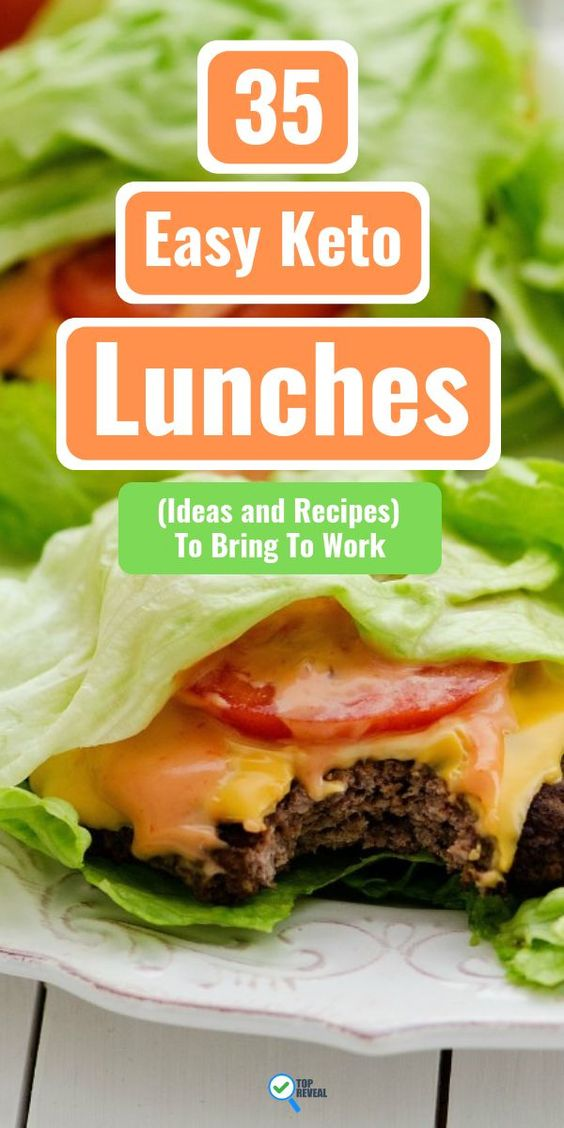 35 Easy Keto Lunches (Ideas and Recipes) To Bring To Work