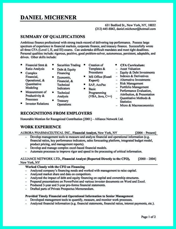The 25+ best Career objective in cv ideas on Pinterest - objective resume statement