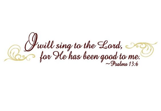 SALE I will Sing Unto the Lord Psalms by empressivedesigns on Etsy, $30.50
