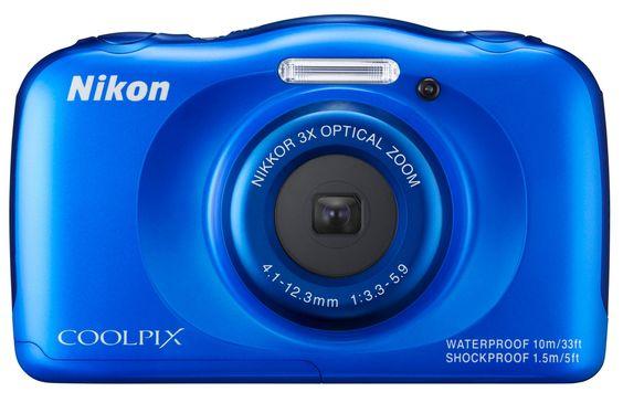 Appareil photo compact Nikon COOLPIX S33 KIT SAC A DOS BLEU