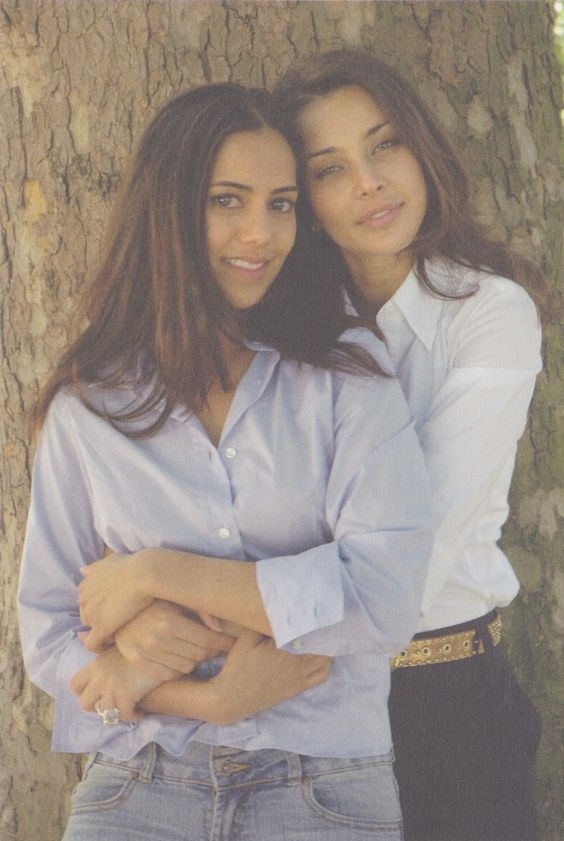 Lisa Ray and Sheetal Sheth I can't think straight & the world unseen ! I loved those moviess!!
