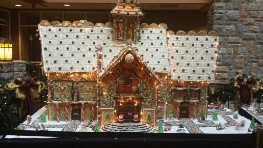 Gingerbread Village...The Chateau...Branson, MO.