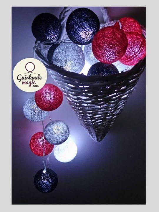 Guirlande Lumineuse Sans Prise : rouge and blog on pinterest ~ Teatrodelosmanantiales.com Idées de Décoration
