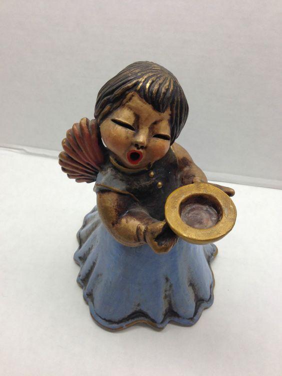 Vintage Bozner Engel Ceramic Angel Thun Bolzano Italy 8
