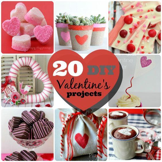 Great Ideas -- 20 DIY Valentine Ideas!