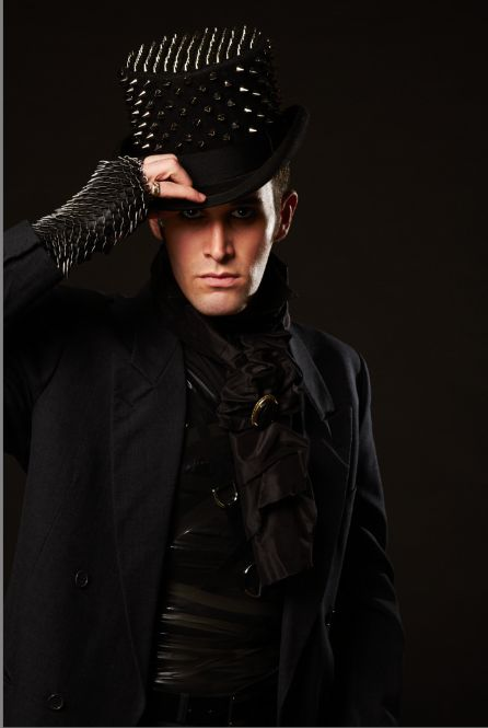 Makeupbylhiatt Harley Pelayo Fashion Style Gothic Male Models Photography Makeup Editorial
