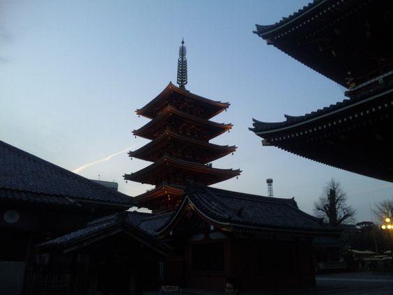 浅草寺五重塔2
