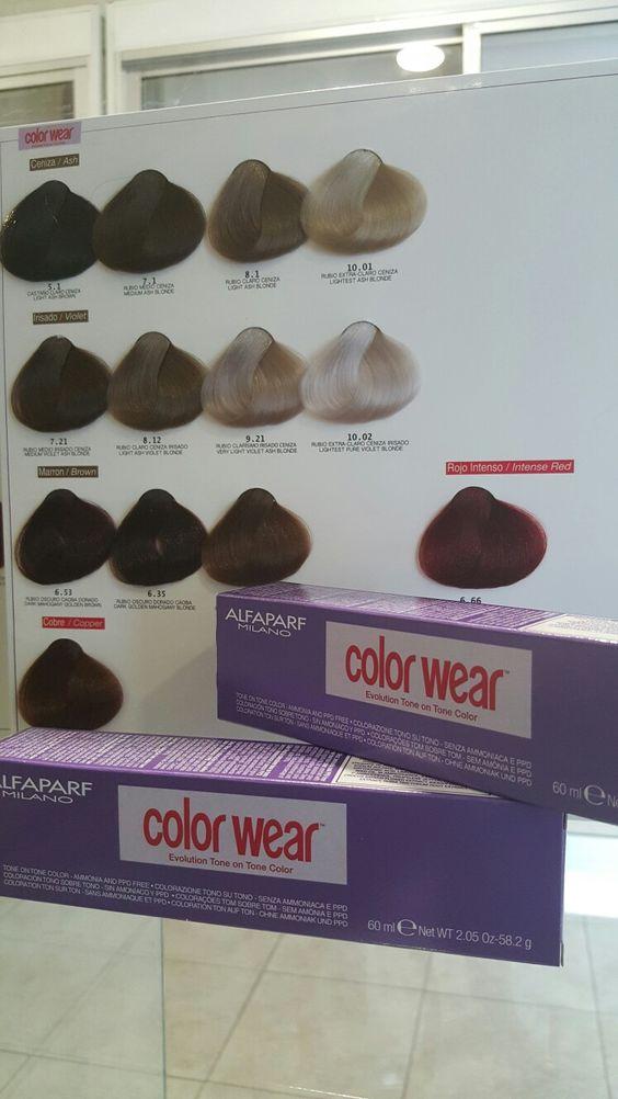 Coloración sin amoniaco Color Wear