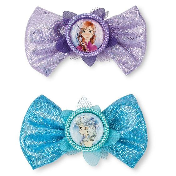 Toddler Girls' Frozen Clips/Barrettes - Multi-Colored, Toddler Girl's