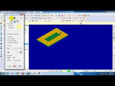 Mastercam Tutorial 05 Youtube Mastercam Tutorial