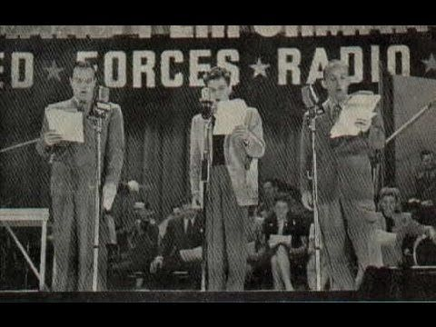 Dick Tracy in B flat.  Simply one of the funniest things ever!  If you are a fan of anything from the WWII era, you need to hear this! It's an episode of Command Performance which was a program done especially for the servicemen serving overseas. I was really born in the wrong decade - I love the 40s!
