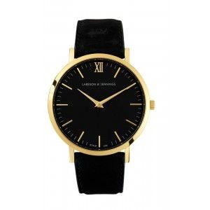 Larsson & Jennings. Resurgence - Black. Black & Gold face. Favourite watch ever!!