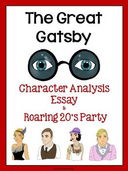 main character great gatsby essay The great gatsby characters jay gatsby, the title character of the great gatsby, was bom jimmy gatz quiz, and essay save time.