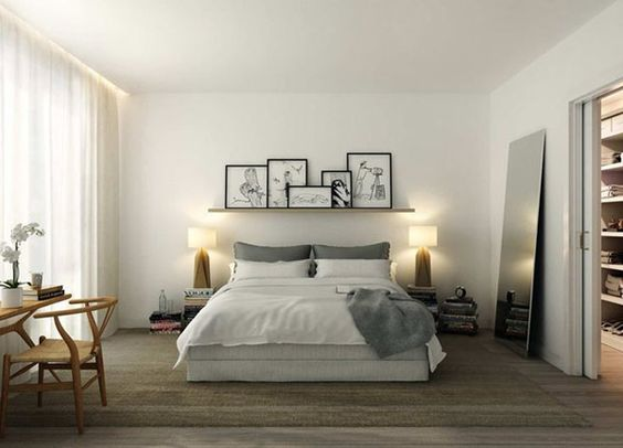 Une tête de lit «fait maison»