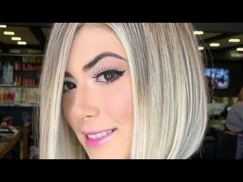 أجمل قصات شعر قصيرة 2020 للشقراوات ذوات الشعر الذهبي Youtube
