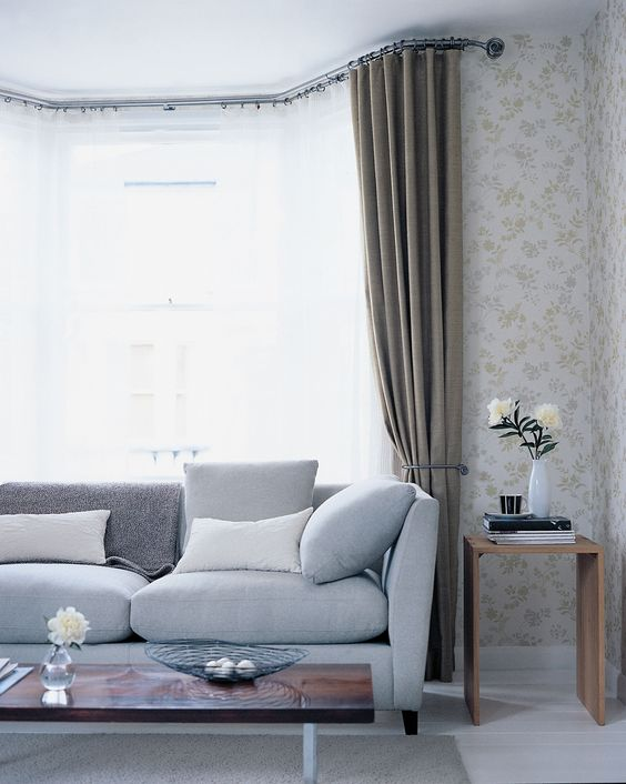 curtain hardware high ceiling mount - Google Search | Studio ...