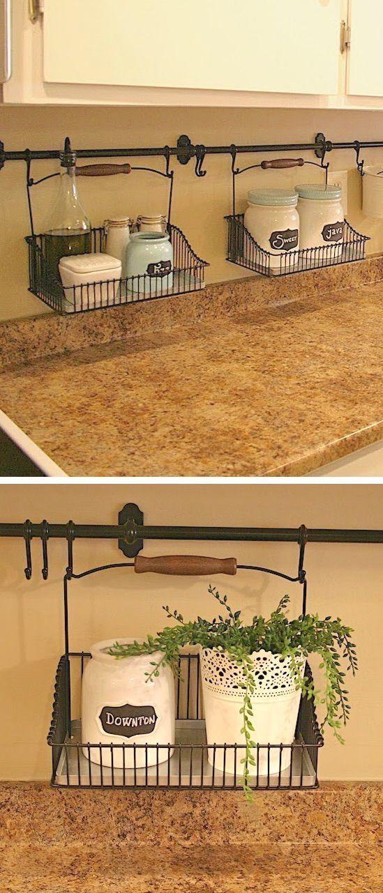 Small Kitchen Decoration Ideas In 2020 Diy Kitchen Backsplash Diy Kitchen Decor Small Space Diy