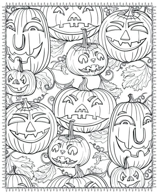 Halloween Coloring Pages Hard Halloween Coloring Pages Printable Pumpkin Coloring Pages Halloween Coloring Book