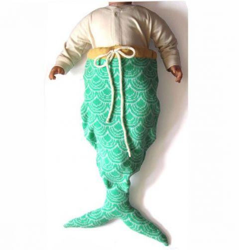 suddenly, i want a baby - mermaid sleeping bag