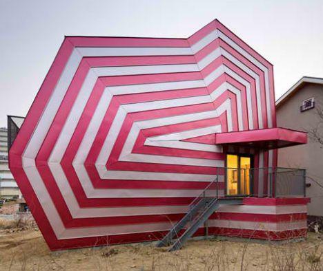 Lollipop House by architect Moon Hoon