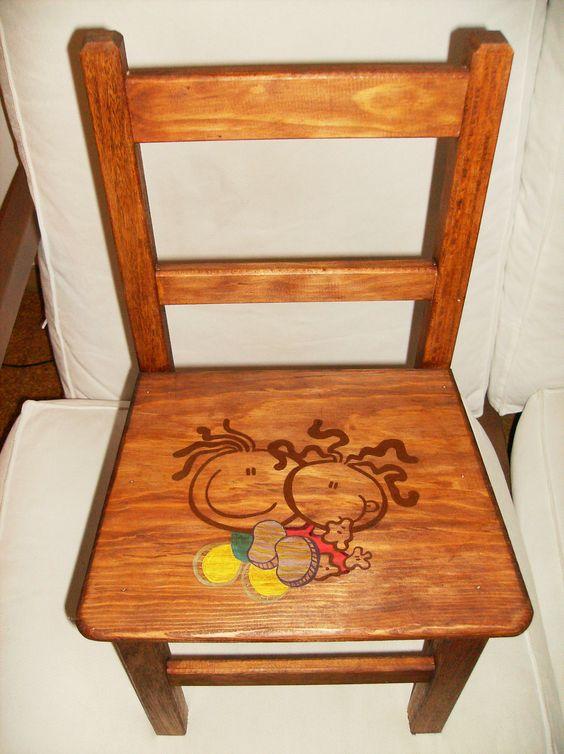Cadeira de menina