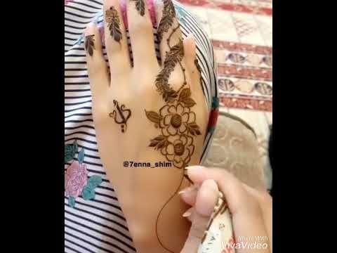 اجمل واروع واحلا نقش حناء Youtube Henna Tattoos Fish Tattoos