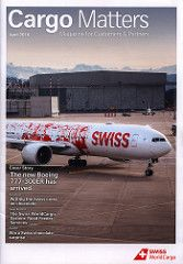 Swiss WorldCargo Cargo Matters Magazine 2016 April_1 Boeing B777-300