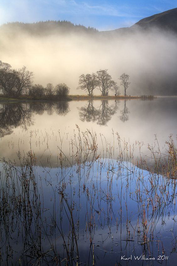 Loch Chon Mist by Karl Williams on 500px  Scotland...I love this photo: