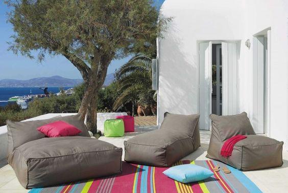 Dual sun bath - 799.90 € | Sunbathing - € 499.90 Fireside - 369.90 € | Outdoor rug - 59.90 € | Houses of the world Blog deco design Beautiful Place
