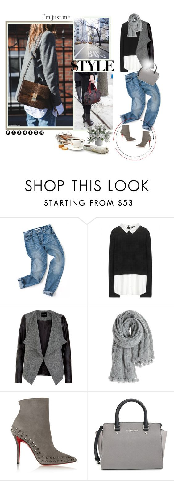 """○-○"" by yanimj503 ❤ liked on Polyvore featuring Mode, Alice + Olivia, Calypso St. Barth, Christian Louboutin und MICHAEL Michael Kors"