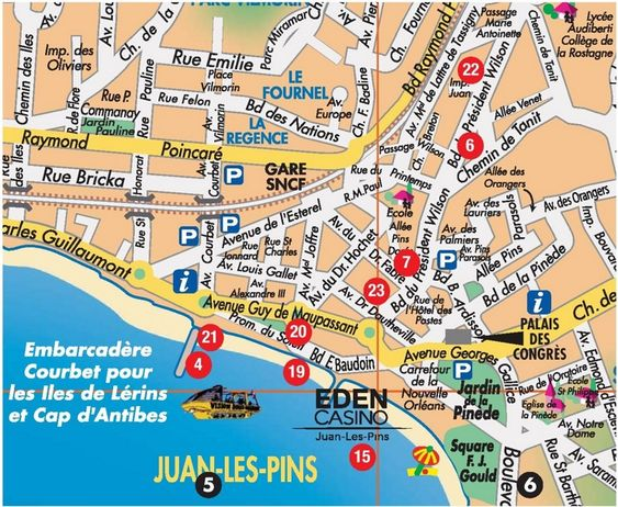 JuanlesPins tourist map Europe 2019 Pinterest Frances o