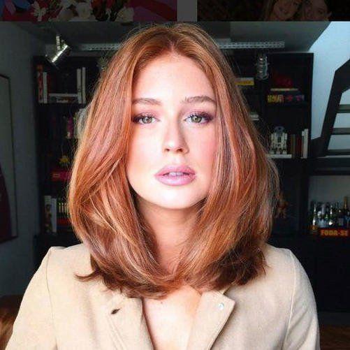 Medium Length Hairstyles We Re Loving Right Now In 2020 Hair Styles Medium Length Hair Styles Natural Red Hair