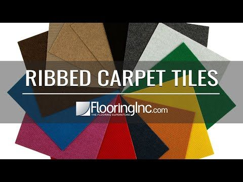 Ribbed Carpet Tile Quick Ship In 2020 Carpet Tiles Carpet