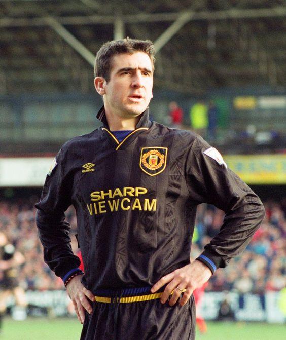 Eric Cantona vs Swindon away in 1994