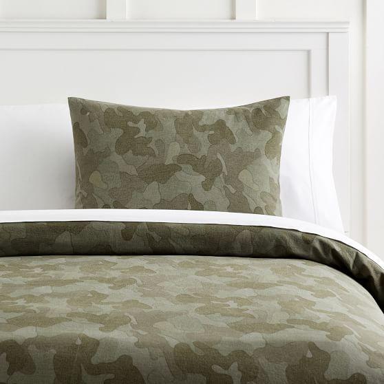 Distressed Camo Duvet Cover Sham Bed Linens Luxury Green Duvet Covers Duvet Covers