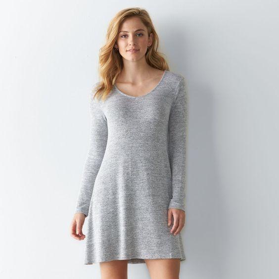 Women's SONOMA Goods for Life™ Marled Swing Dress