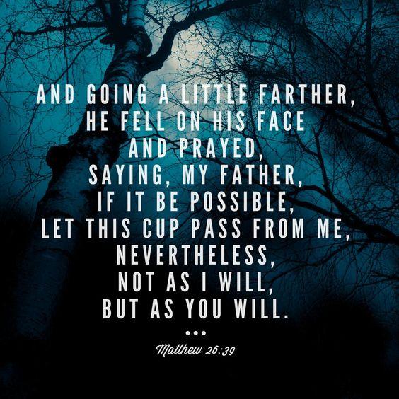 4/17/2019 Matthew 26:39