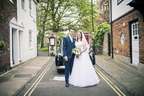 Sandwich Kent wedding photography for Sarah and Richard