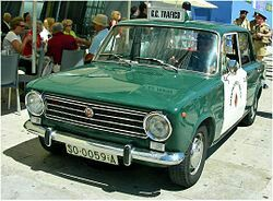 Seat 124 Guardia Civil