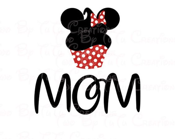 Disney+Mom+Cupcake+Minnie+Family+Trip+2014+by+TwoByTuTuCreations,+$5.00