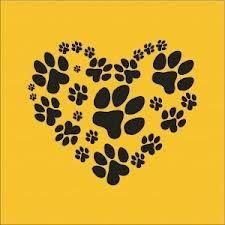 Paw heart: