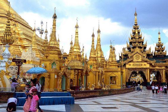 Yangon, Burma, Asia | Amazing places to visit