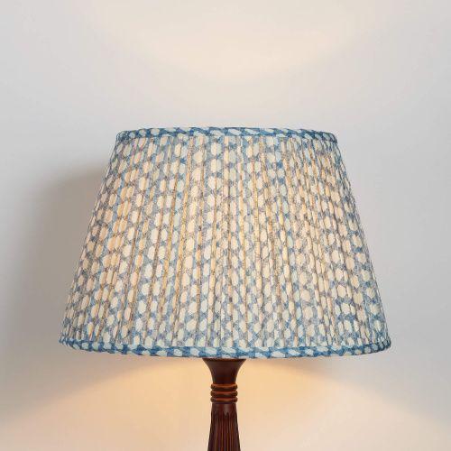 Fermoie Shade Wicker Cobalt Shades Lighting Custom Lamp Shades Fabric Lampshade Wicker