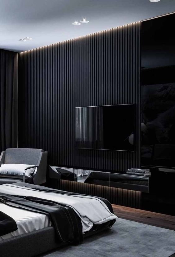Masculine Bedroom Decor Inspirations Luxury And Contemporary Design Luxury Bedroom Master Luxurious Bedrooms Black Bedroom Design